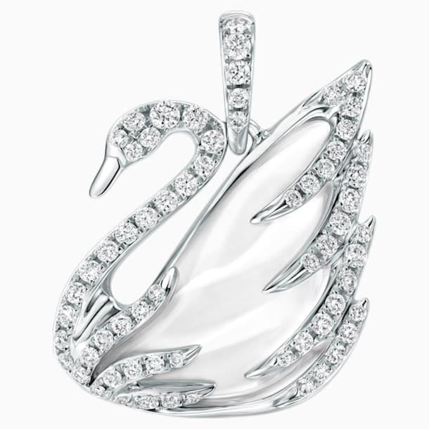 瑰丽天鹅18K金水晶钻石链坠 - Swarovski, 5221782