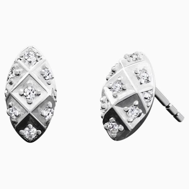 Alight Post Earrings - Oxidized - Swarovski, 5229291