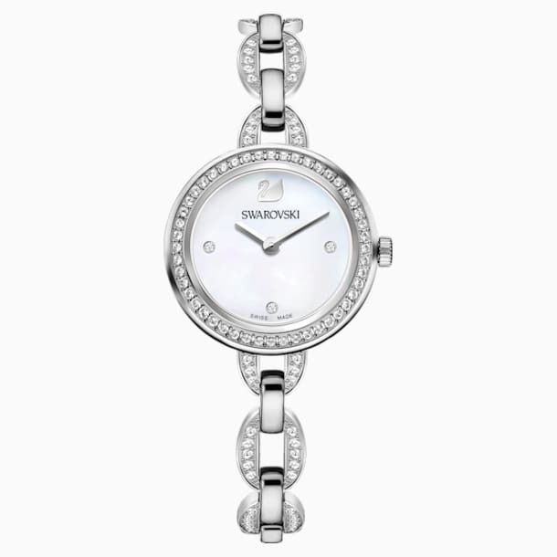 Aila Mini Watch, Metal bracelet, Stainless steel - Swarovski, 5253332