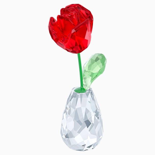 Bloemendromen - Rode roos - Swarovski, 5254323