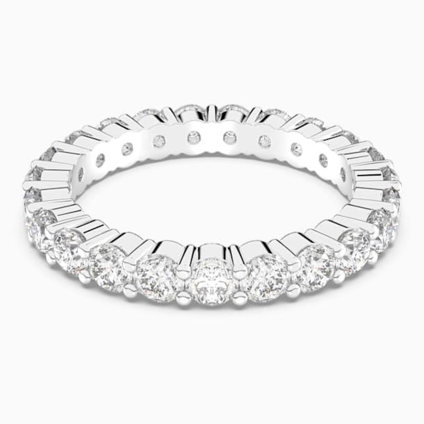 Δαχτυλίδι Vittore XL, λευκό, επιροδιωμένο - Swarovski, 5257479