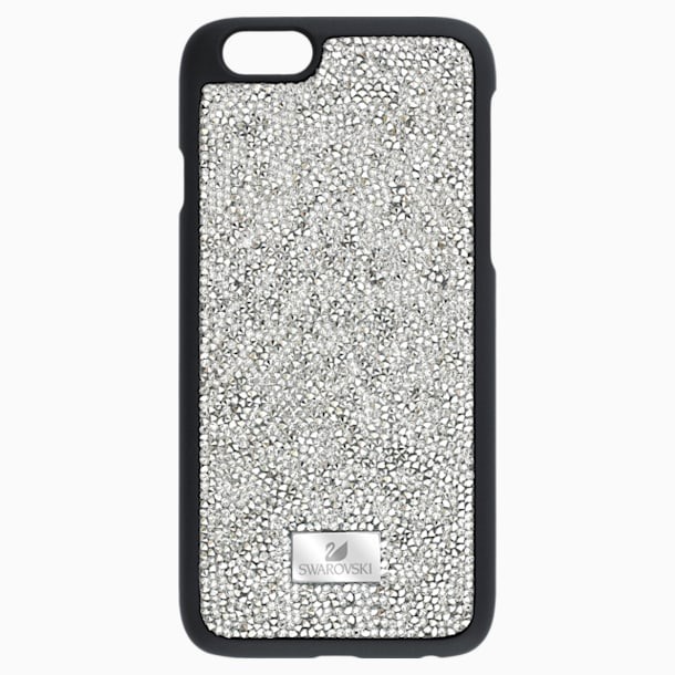 Glam Rock Gray Smartphone Case with Bumper, iPhone® 7 Plus - Swarovski, 5268114