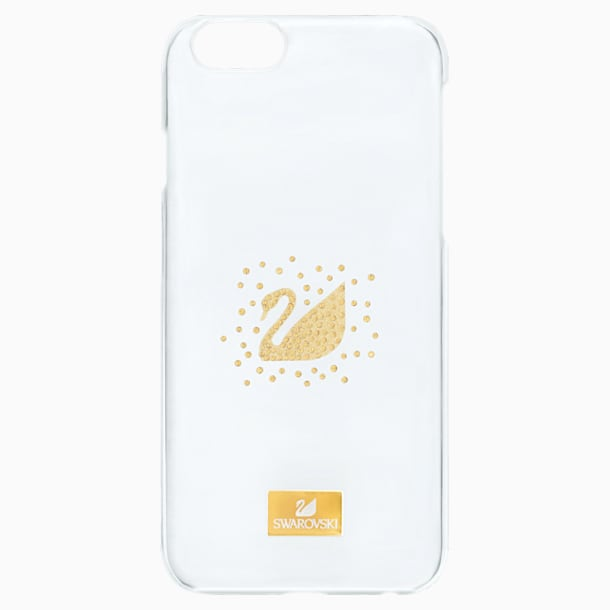 Swan Golden Smartphone Case with Bumper, iPhone® SE - Swarovski, 5272715