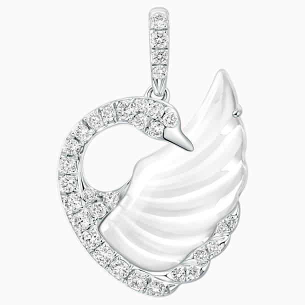 天鹅曼舞18K金水晶钻石链坠 - Swarovski, 5294480