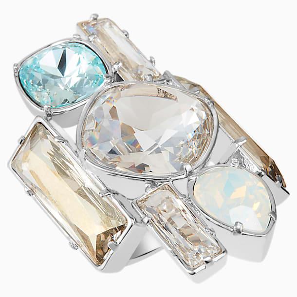 Nile Cocktail Ring, palladium plating - Swarovski, 5298919