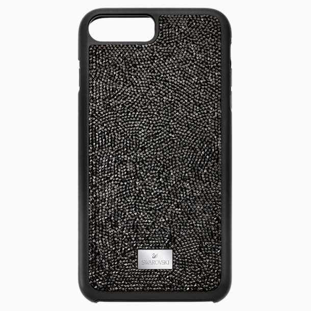 Glam Rock 智能手機防震保護套, iPhone® 8 Plus, 黑色 - Swarovski, 5300266