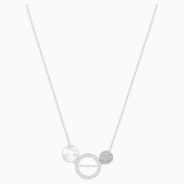 Pendentif Hote Versatile, gris, métal rhodié - Swarovski, 5300330