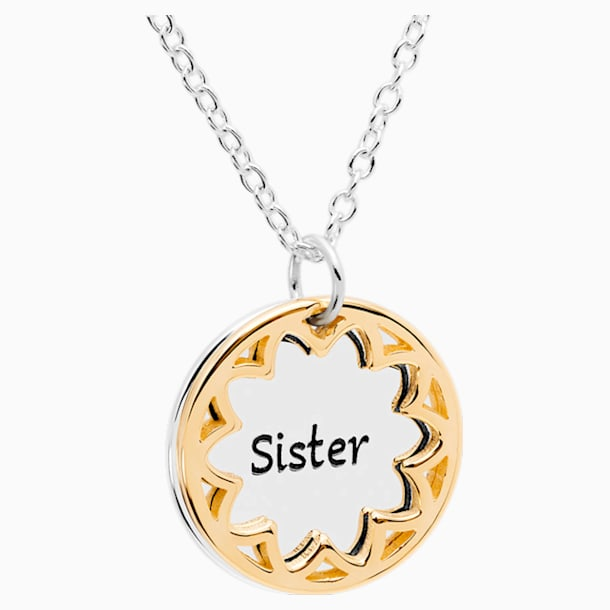 Treasure Necklace - Sister - Swarovski, 5301726