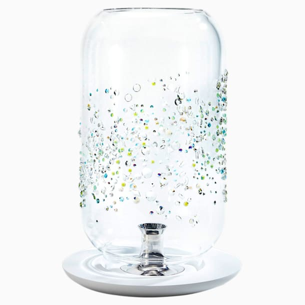 Lux Orbit Laterne, klein, weiss - Swarovski, 5353073