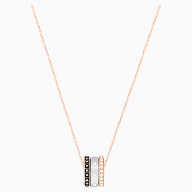 Hint Pendant, Multi-colored, Mixed metal finish - Swarovski, 5353666