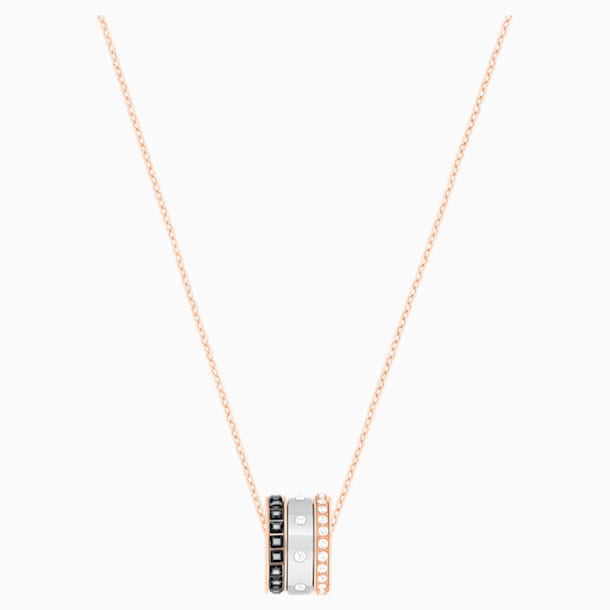 Hint Pendant, Multi-coloured, Mixed metal finish - Swarovski, 5353666