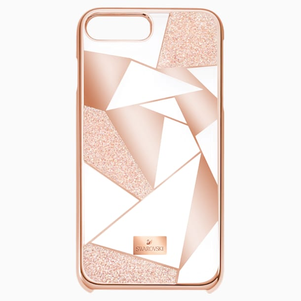 Heroism Smartphone Case with Bumper, iPhone® 8, Pink - Swarovski, 5354494