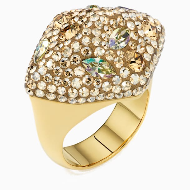 Moselle Ring, Gold tone, Gold-tone plated - Swarovski, 5361779