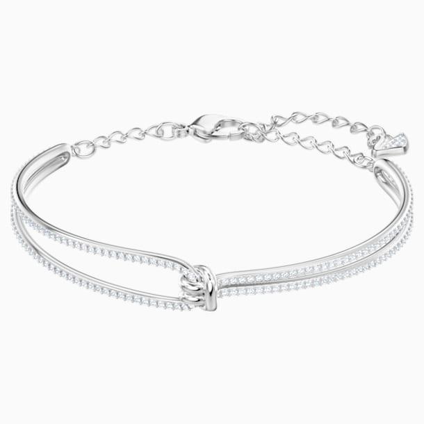Lifelong Bileklik, Beyaz, Rodyum kaplama - Swarovski, 5368552