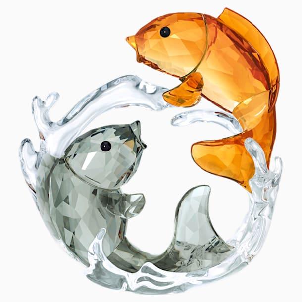 2匹の鯉 - Swarovski, 5376621