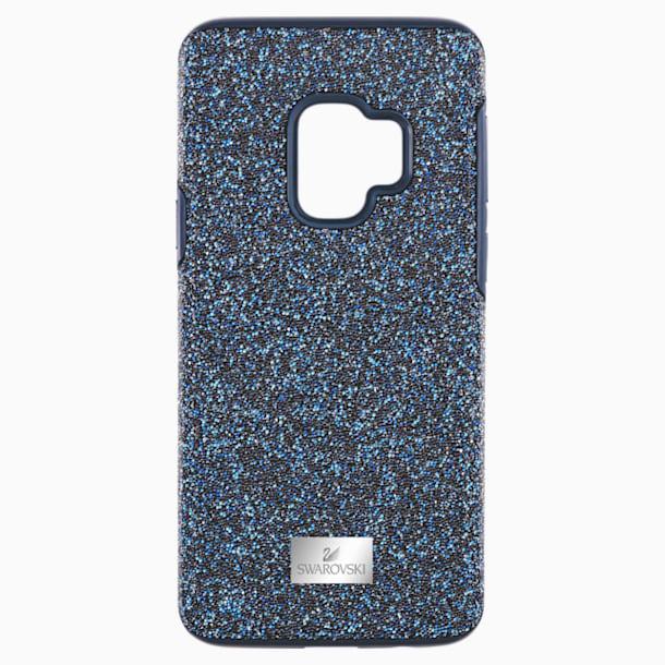High Smartphone Case with Bumper, Galaxy S®9, Blue - Swarovski, 5380300