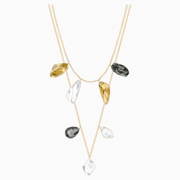Collar versátil Prisma, multicolor, Baño en tono Oro - Swarovski, 5385837