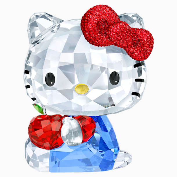 Hello Kitty Roter Apfel - Swarovski, 5400144