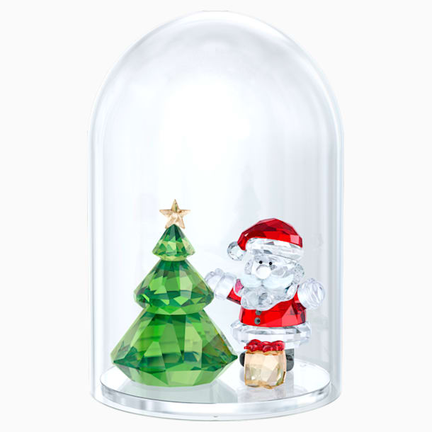 水晶鐘罩 – 聖誕樹與聖誕老人 - Swarovski, 5403170