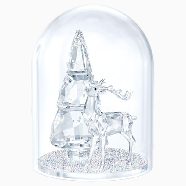 Jedle a jelen pod sklem - Swarovski, 5403173