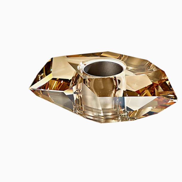 Lustra Kerzenhalter, goldfarben - Swarovski, 5404300