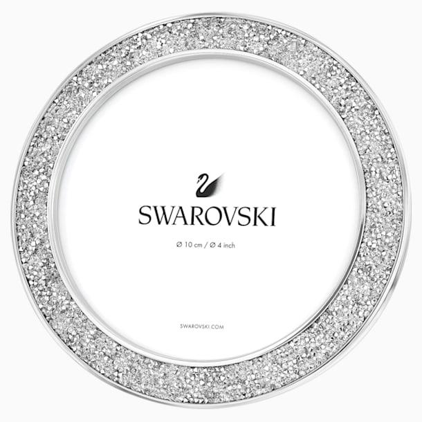 Minera Resim Çerçevesi, yuvarlak, Gümüş Rengi - Swarovski, 5408239