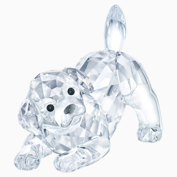Labrador Yavru Köpek, oyun oynayan - Swarovski, 5408608