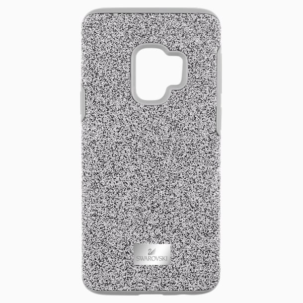 High Smartphone Case with Bumper, Samsung Galaxy S® 9, Grey - Swarovski, 5409455