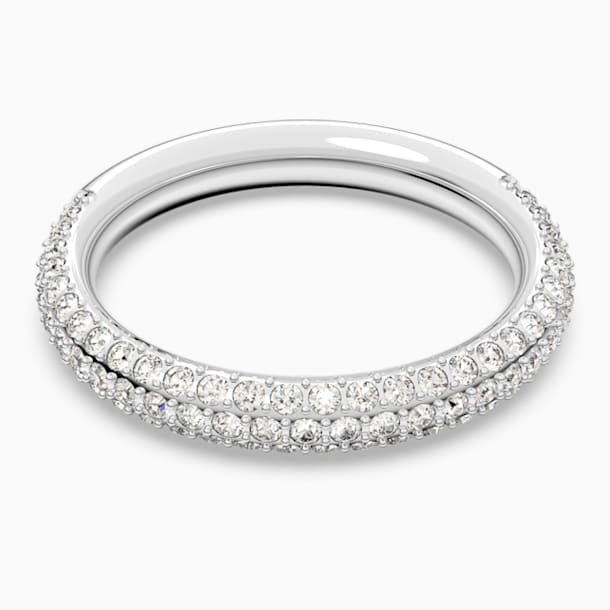 Stone-ring, Wit, Rodium-verguld - Swarovski, 5412033