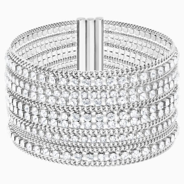 Pulsera Fit, blanco, acero inoxidable - Swarovski, 5421826
