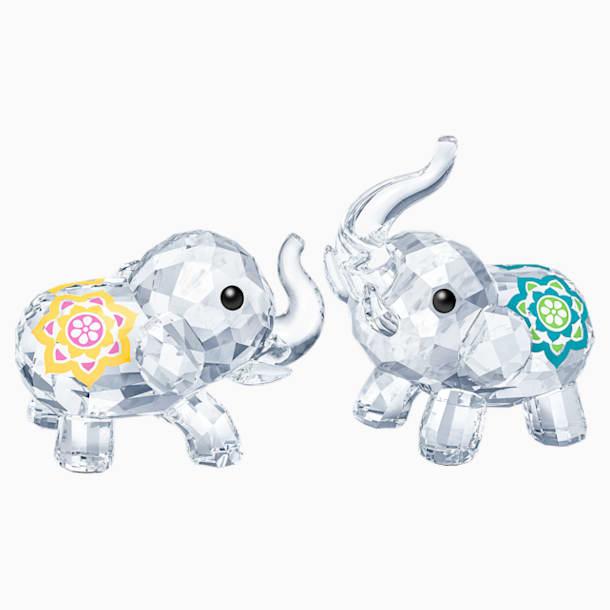Szerencsehozó elefántok - Swarovski, 5428004