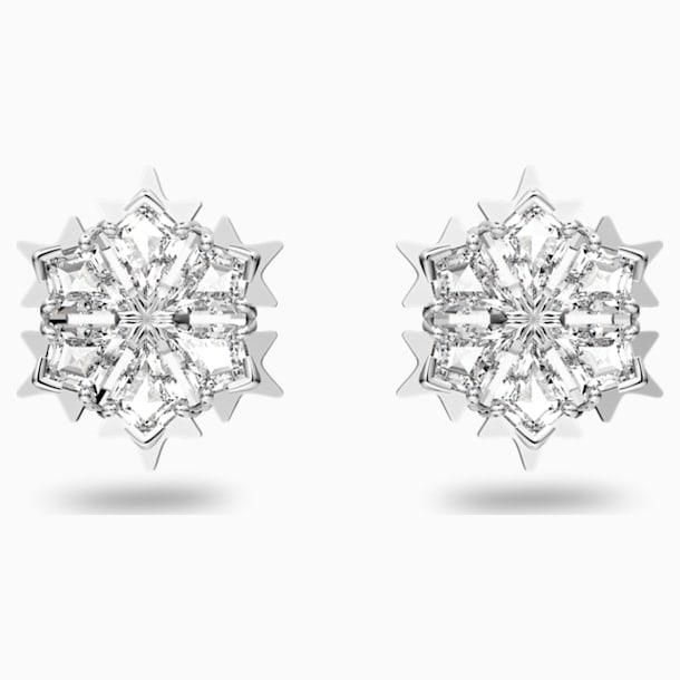Magic Серьги, Белый Кристалл, Родиевое покрытие - Swarovski, 5428430