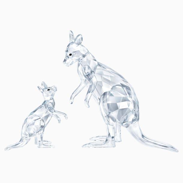 Kangaroo Mother with Baby - Swarovski, 5428563