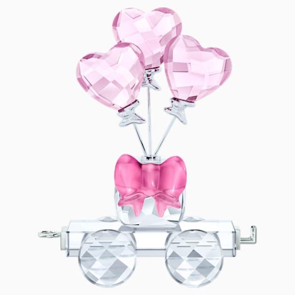 Wagon Ballons Cœurs - Swarovski, 5428615