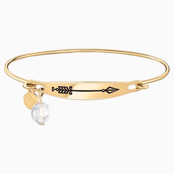 Arrow Id Bangle - Gold - Swarovski, 5429106