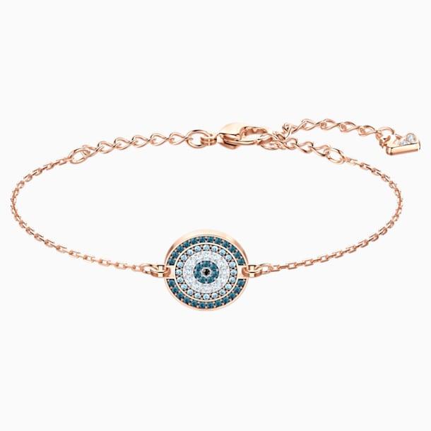 Bracelet Luckily, multicolore, Métal doré rose - Swarovski, 5429128