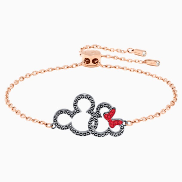Bracelet Mickey & Minnie, multicolore, Finition mix de métal - Swarovski, 5435138