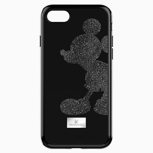 Mickey Body 智能手機防震保護套殼, iPhone® 8, 黑色 - Swarovski, 5435478