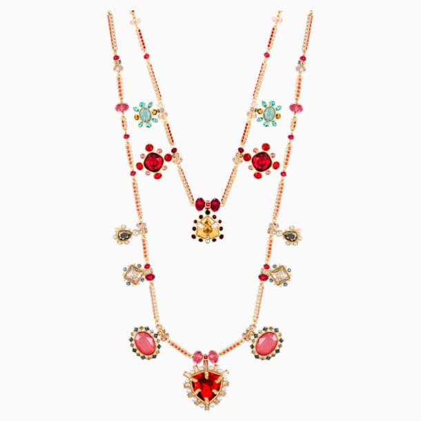 Origins Necklace, Multi-coloured, Gold-tone plated - Swarovski, 5435558