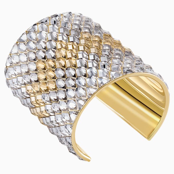 Notorious Cuff, Multi-coloured, Gold-tone plated - Swarovski, 5435562