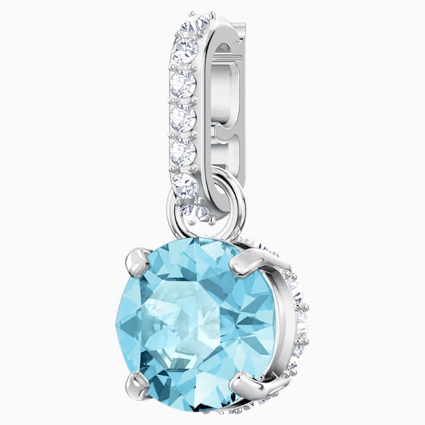 Swarovski Remix Collection Charm, turchese, Placcatura rodio - Swarovski, 5435642