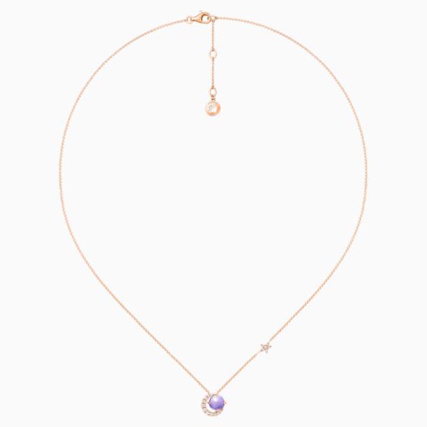 18K RG Wishful Crescent NL (Ame) - Swarovski, 5436223