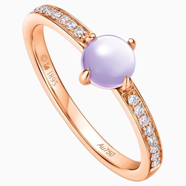 18K RG Dia Wishful Moon Ring E (Ame) - Swarovski, 5436224