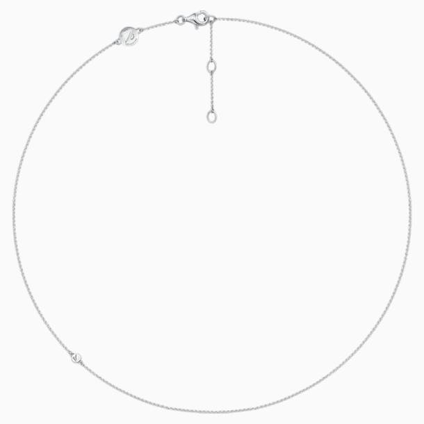 18K WG Deluxe Plain Chain - Swarovski, 5436255