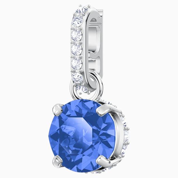 Swarovski Remix Collection Charm, September, Dark Blue, Rhodium plated - Swarovski, 5437319