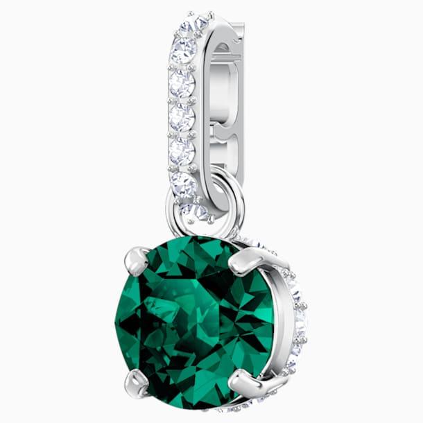 Swarovski Remix Collection Charm, Май, Зеленый Кристалл, Родиевое покрытие - Swarovski, 5437321