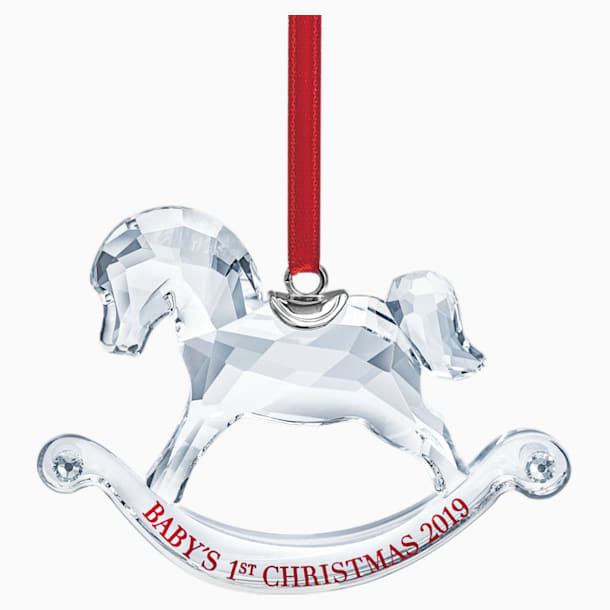 Baby's 1st Christmas Ornament, A.E. 2019 - Swarovski, 5439947