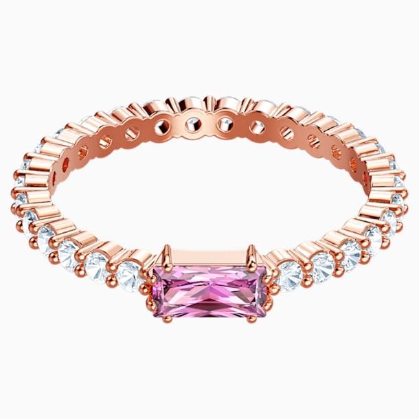 Vittore Ring, Multi-coloured, Rose-gold tone plated - Swarovski, 5441208