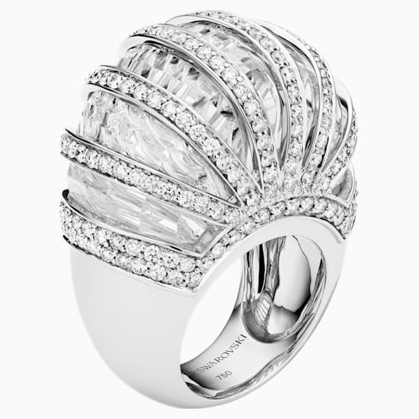 Duchesse Ring, 18K White Gold, Rhodium Plated Size 59 - Swarovski, 5442629