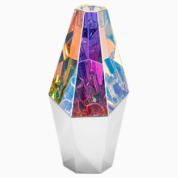 Rock Kerzenhalter, silberfarben - Swarovski, 5443563